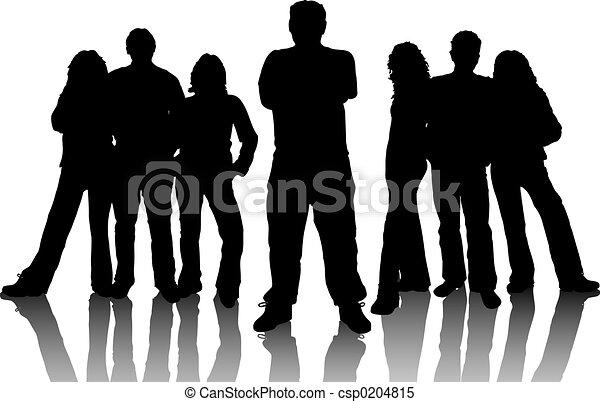 giovani persone - csp0204815