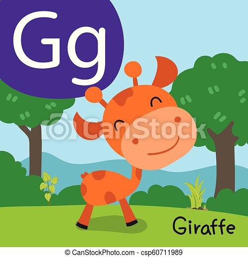 giraffe drawing line vector design - csp60711989