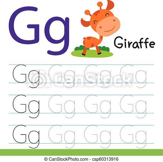 giraffe drawing line vector design - csp60313916