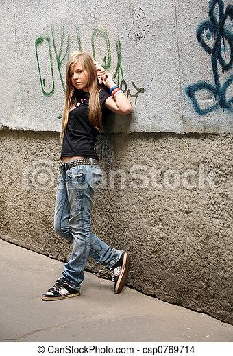 girl, -, adolescent - csp0769714