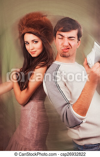 girl and guy - csp26932822