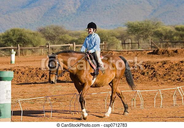 girl, cavalier - csp0712783