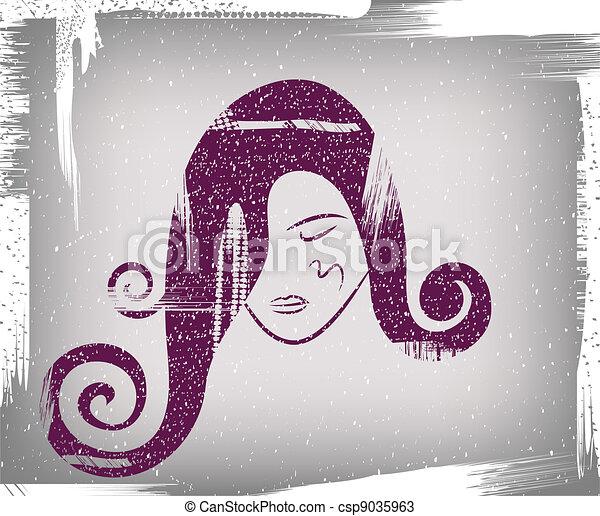 girl, figure - csp9035963