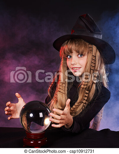 girl-holding-crystal-ball-stock-photos_c