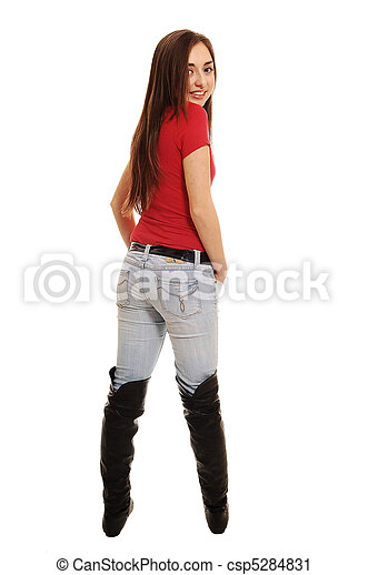 girls in long boots