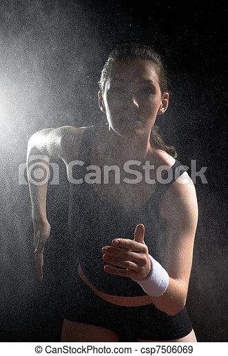 girl in sport - csp7506069