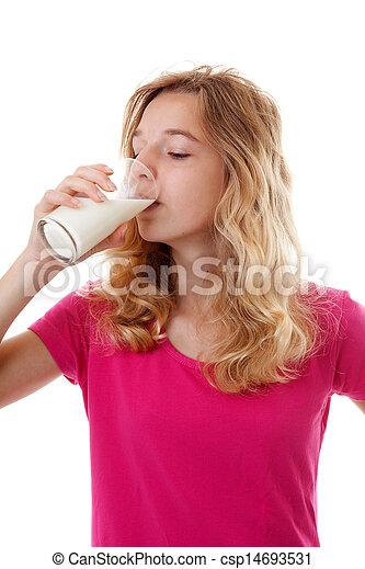 photo of girls milk № 7515