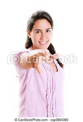 Girl looking - csp3904360