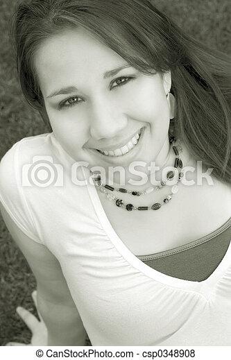 Girl - csp0348908
