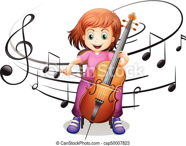 girl playing cello alone illustration vector illustration beach volleyball clipart girl sand volleyball clipart
