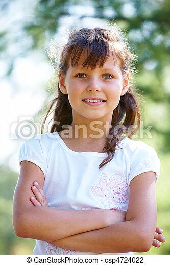 Girl posing - csp4724022