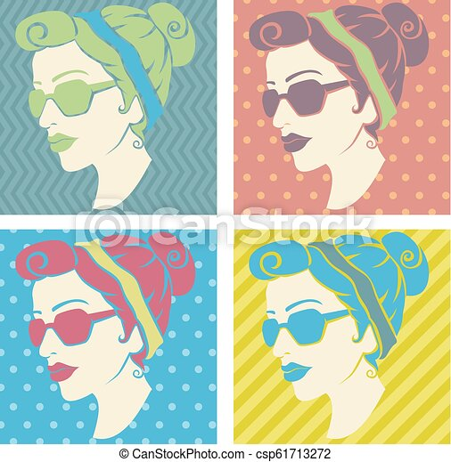 50's Glasses Cliparts - Cat Eye Glasses Clipart - Png Download (#44757) -  PinClipart