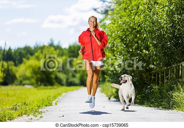 girl, sport - csp15739065