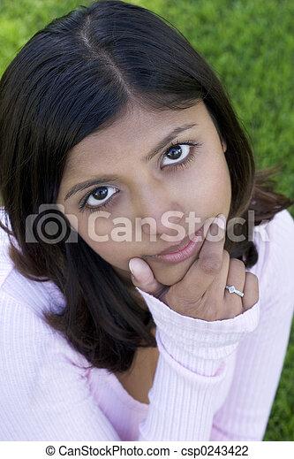 Girl - csp0243422