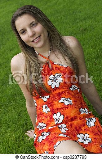 Girl - csp0237793