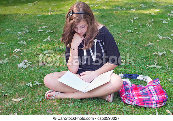 outdoors Teen girls