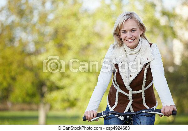 girl, vélo - csp4924683