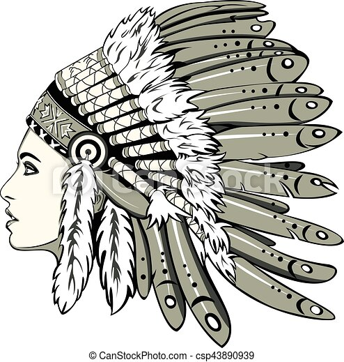 girl with indian headdress vector of beautiful girl with chef hat clip art free chef hat clipart