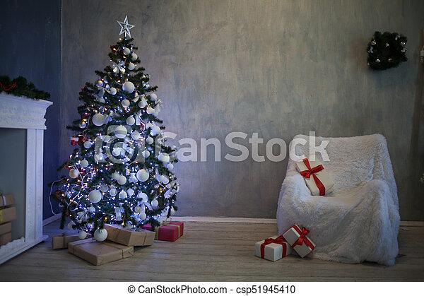 Weihnachten Geschenke 2019.Girlande Baum Geschenke Lichter 2019 2018 Jahr Neu Weihnachten