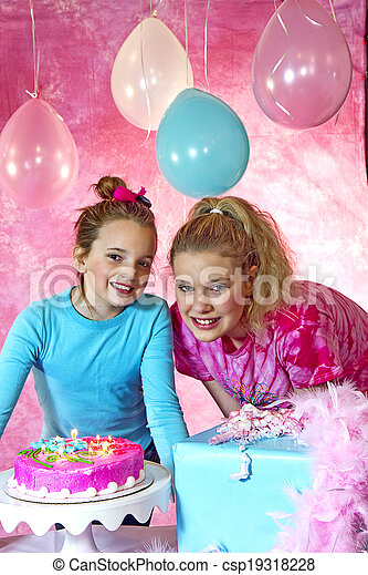 Have nude young girls at birthday party think