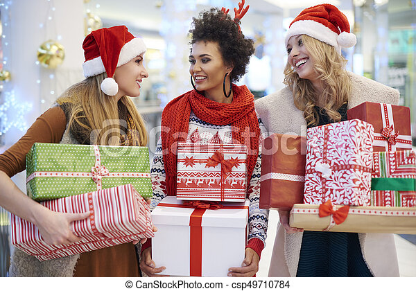 Girls are ready for Christmas - csp49710784