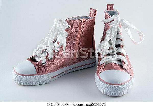 Girls Baseball Boots - csp0392973