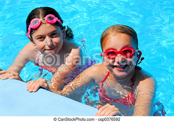 Girls children pool - csp0376592