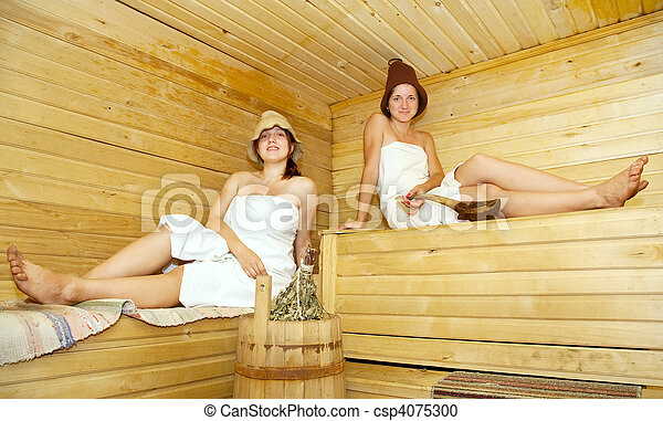 girls in steam rooms