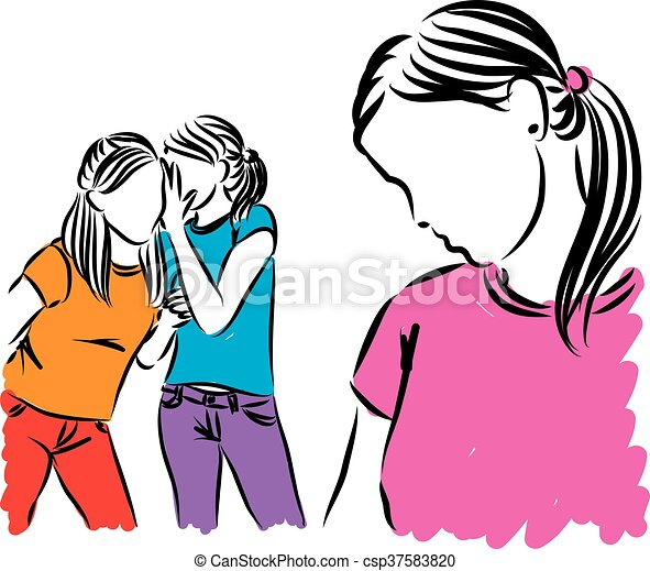 girls teenagers gossip illustration vector illustration search rh canstockphoto ca Gossip Graphics gossip clipart free