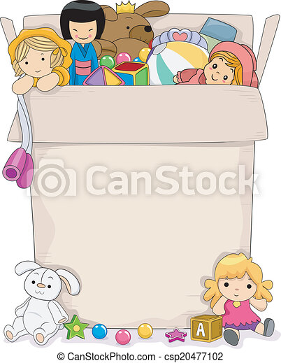 Girls Toy Box - csp20477102