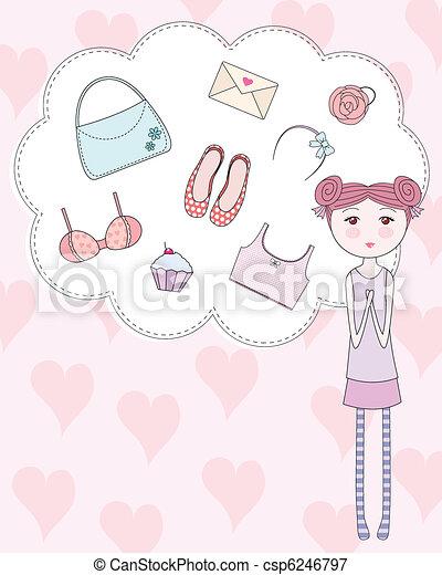 girly things - csp6246797