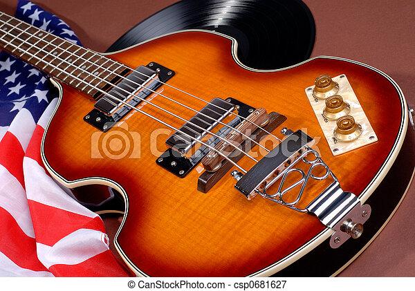 gitár, hatvanas évek - csp0681627