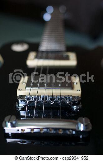 gitaar, elektrisch - csp29341952