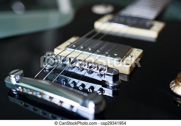 gitaar, elektrisch - csp29341954
