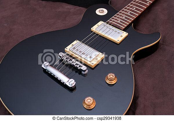 gitaar, elektrisch - csp29341938