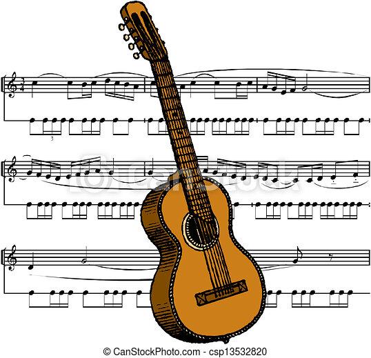 gitara - csp13532820