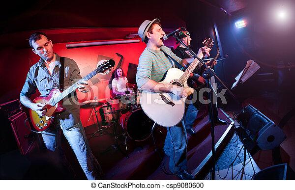 gitarre, musiker, spiele - csp9080600