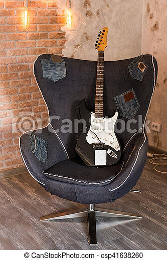gitarre stuhl