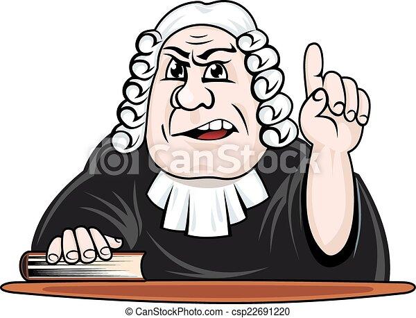 giudice, fare, verdetto - csp22691220