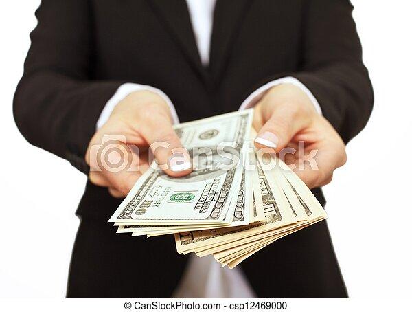 givande pengar, styrelse, affär, muta - csp12469000