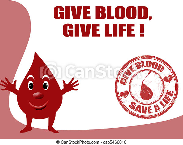 give blood, give life - csp5466010