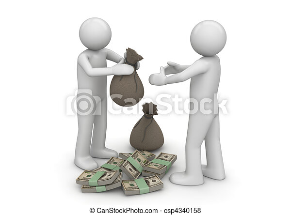 Give me my money - Finance collection - csp4340158