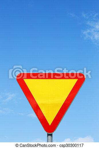 Give way - csp30300117