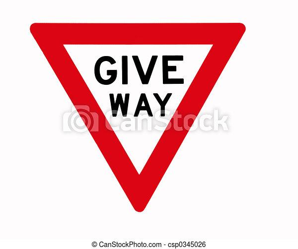 Give Way - csp0345026
