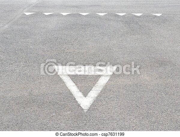 give way - csp7631199
