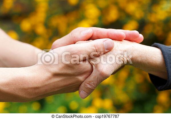 Giving help - csp19767787