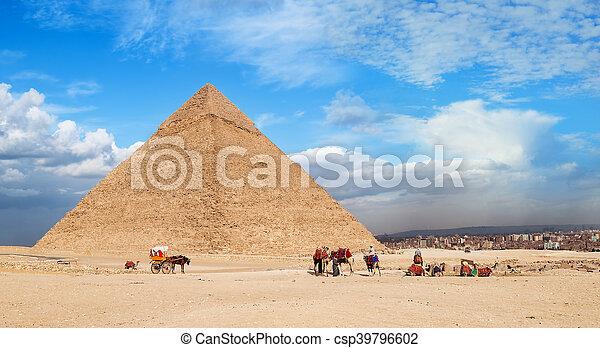 Giza Pyramid Cheops - csp39796602
