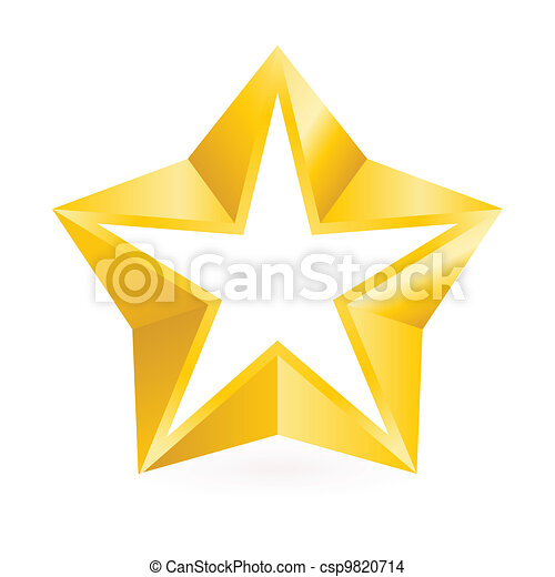 Glänzender Goldstern - csp9820714