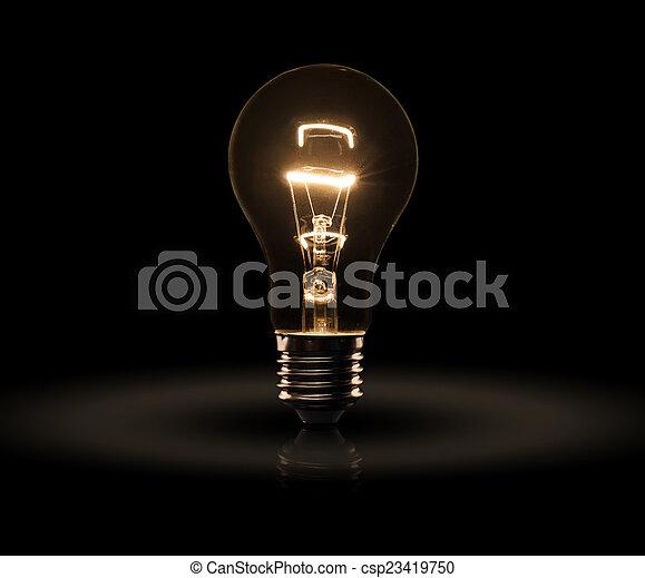 Glühbirne - csp23419750