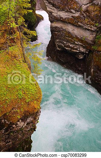 Glacial river, Norway - csp70083299